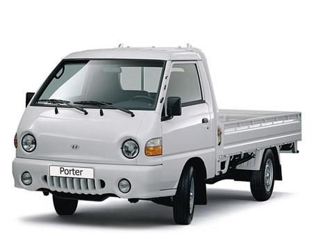 Легкий грузовик Hyundai Porter H100 шасси | Грузовики Hyundai ...